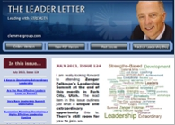 Jim Clemmer's Leader Letter Newsletter