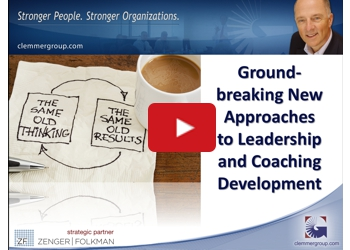 New Approaches to Leadership and Coaching