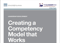 Creating a Competency Model That Works