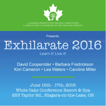 3rd Canadian Conference on Positive Psychology