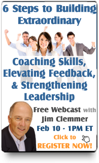 Webinar: 6 Steps to Extraordinary Coaching Skills, Elevating Feedback, and Strengthening Leadership