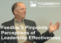 Feedback Pinpoints Perceptions of Leadership Effectiveness