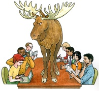 Removng the Moose on the Table