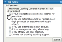 Coaching Survey: Big Need for Skill, Feedback, and Measurement