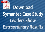 Free case study: Symantec Leaders Show Extraordinary Results