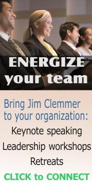 Jim Clemmer Public Leadership and Coaching workshops - June 19&20