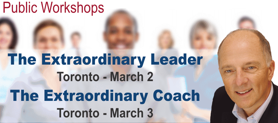 Public Workshops with Jim Clemmer in Toronto March 2 & 3