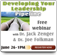 Complimentary Webinar: Developing Your Leadership Pipeline