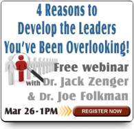 Webinar on Developing Extraordinary Leaders and Coaches
