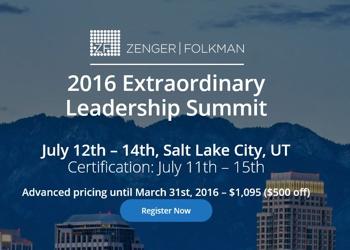 2016 Extraordinary Leadership Summit