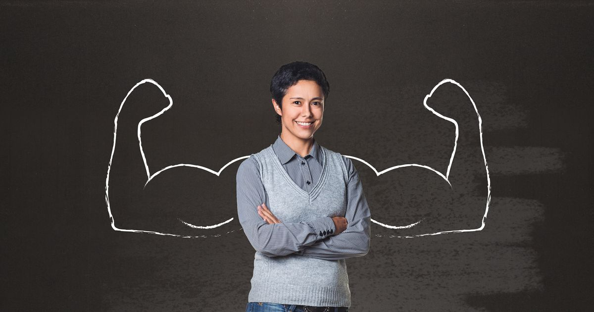 building on existing strengths instead of fixing weaknesses