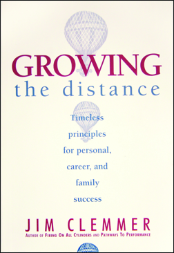 Growing the distance the clemmer group there are countless personal and leadership development books full of jargon fads and buzzwords flooding the market a bestseller this is a book of fandeluxe Choice Image