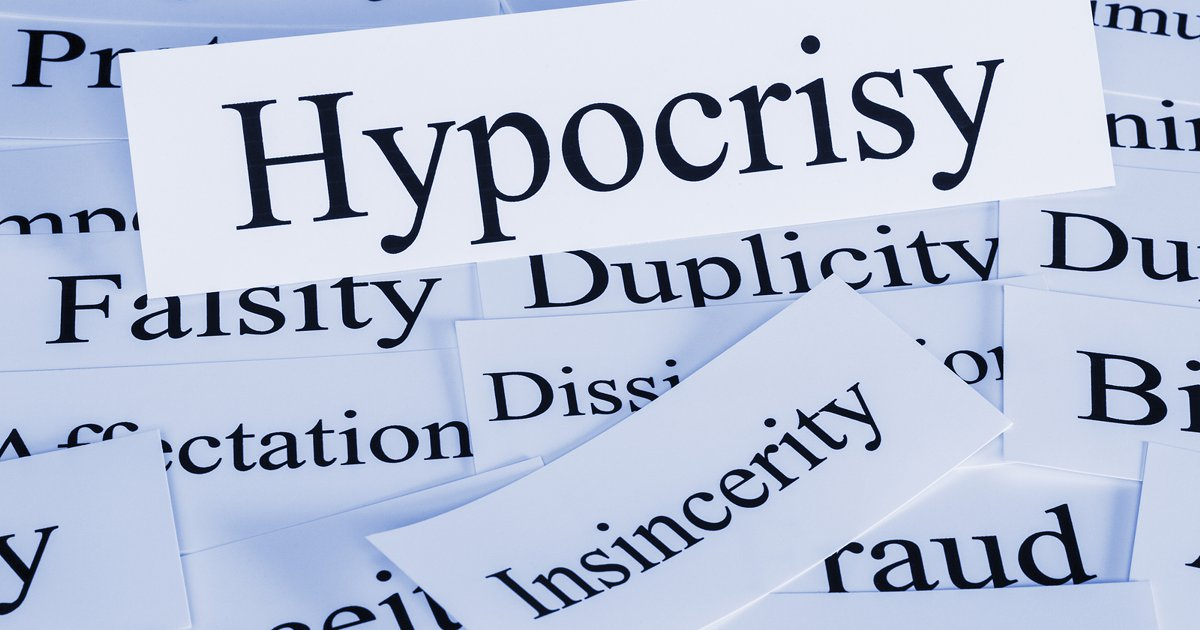 leadership hypocrisy