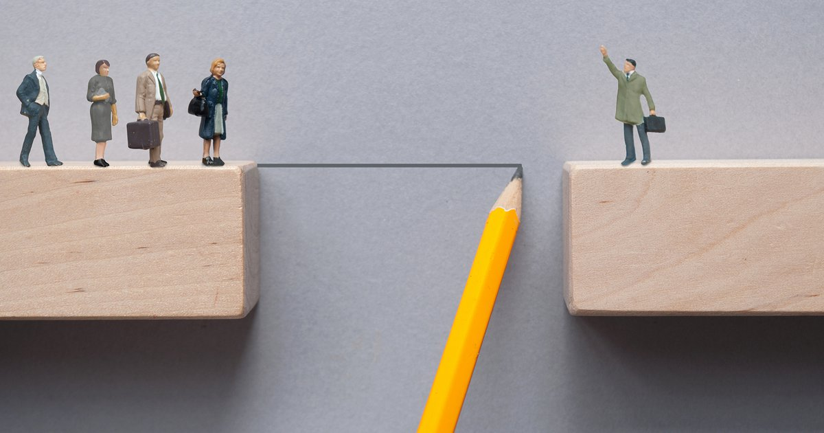 Leadership behaviour values gap